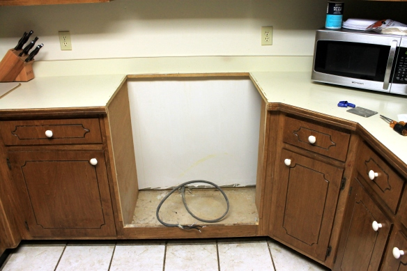 Oven Removed
